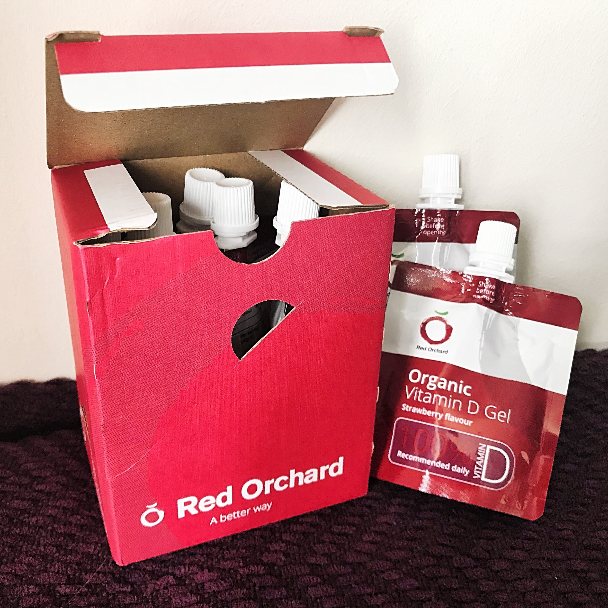 Red Orchard Organic Vitamin D Pouches