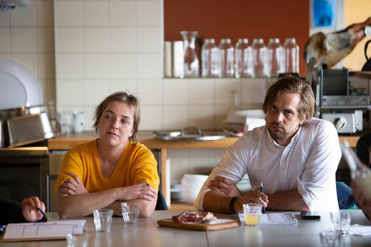 Liane van Steeg & Johan Leenders.