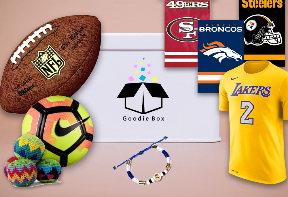- The sports box is the best way to stay in style with the hottest teams. Instead of going out to buy new gear every few weeks we will send you an entire box with anywhere from 5 to 8 products with a retail value of over $200 that will help you look good while cheering for your team.