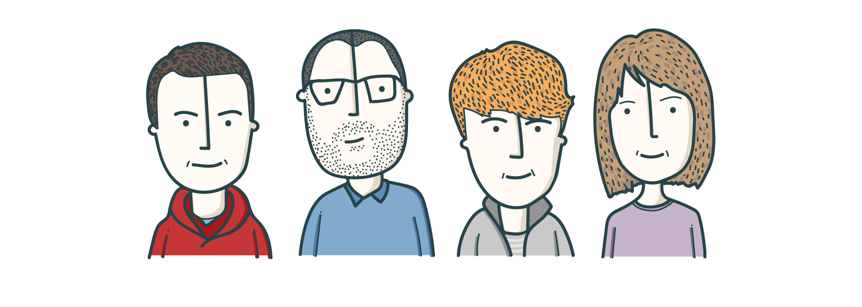 Hindsight team illustration