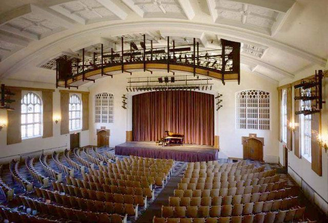 Asplundh Hall, the location of our main meetings!