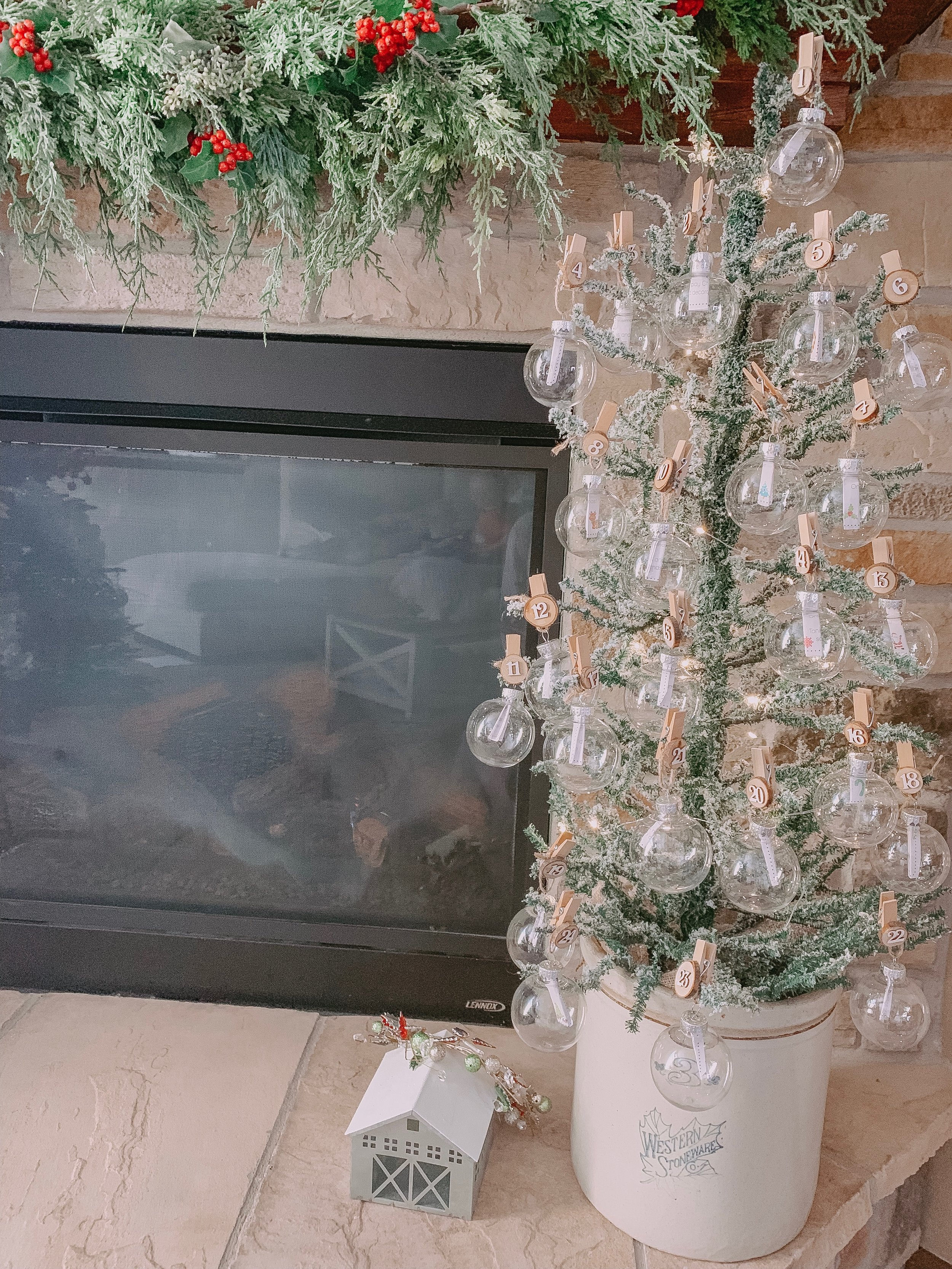 Farmulosity Advent Christmas Tree