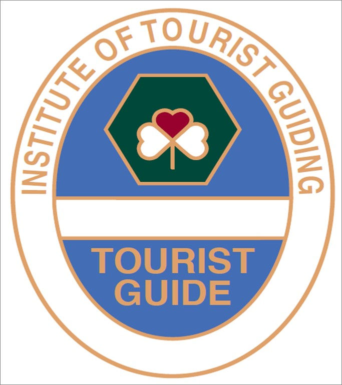 Our guides are all Blue Badge qualified - the mark of Professional Guides -