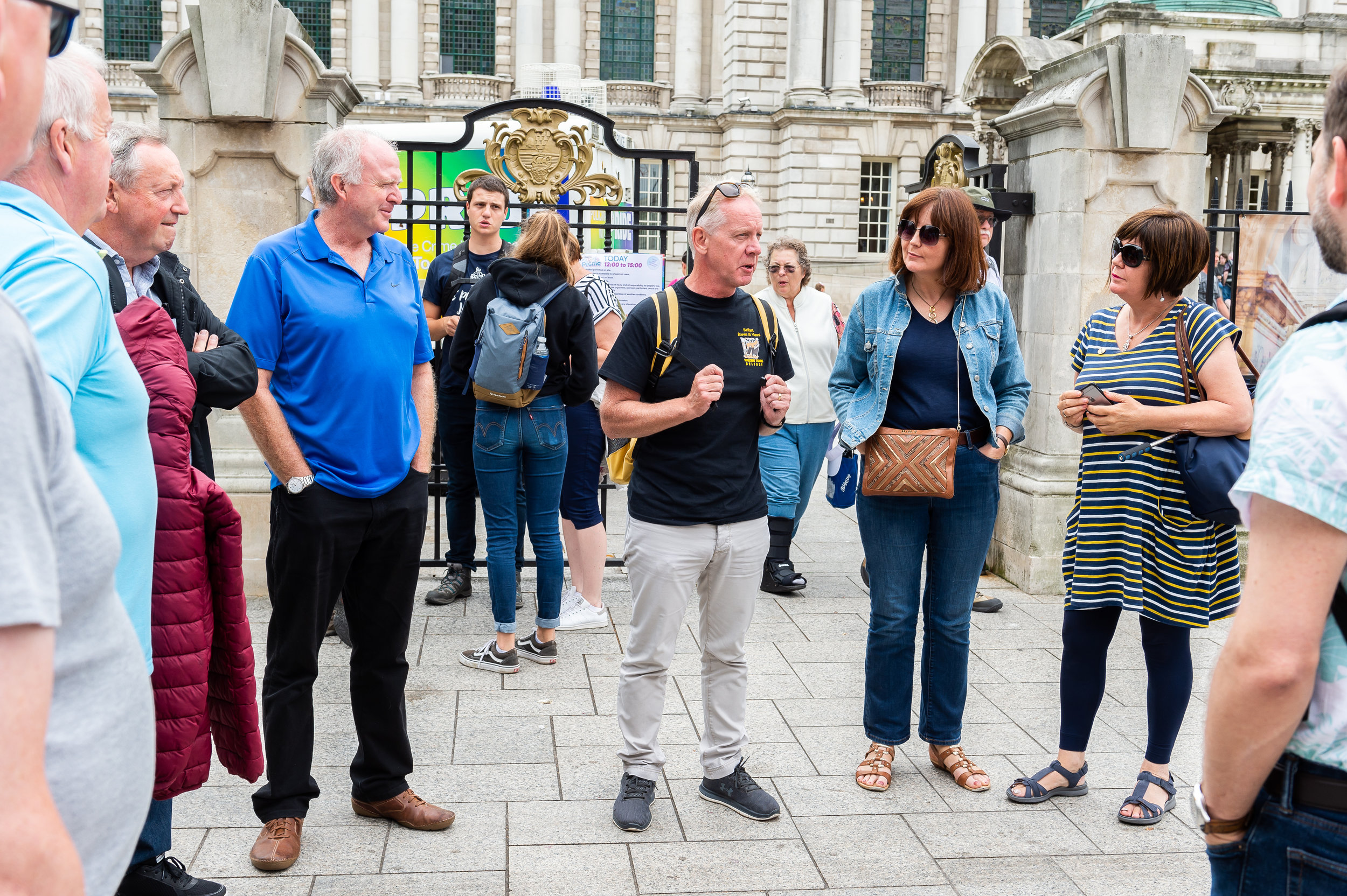 """1. Belfast's Troubled History Tour - """"Aidan…. gives a very balanced telling of the different perspectives throughout the history. He clearly understands and conveys the history of conflict and division with Belfast.."""" matthagen88 TripAdvisor"""