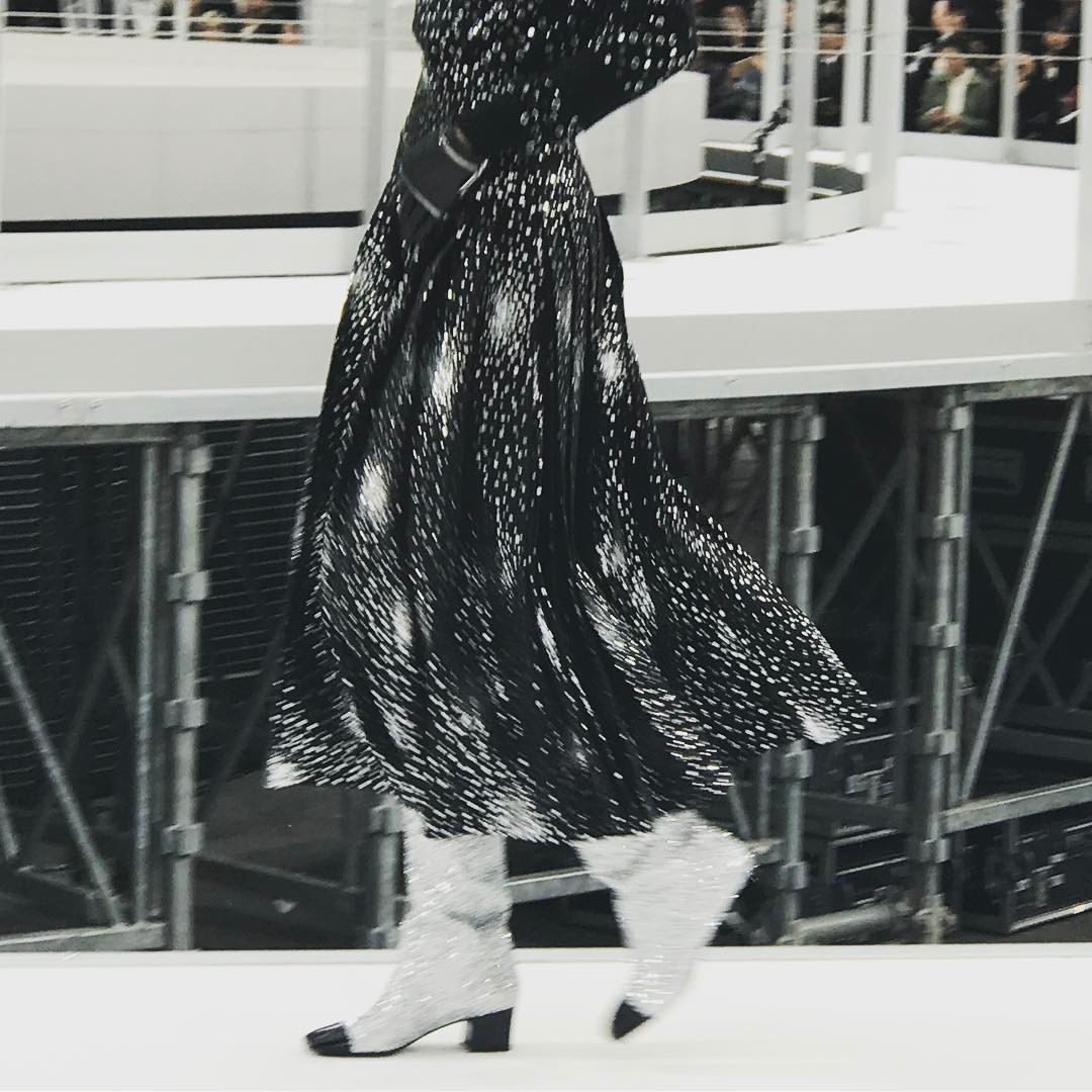 galaxy-pattern-dress-with-glitter-boots-at-chanel-chanel-chanel-pfw.jpg