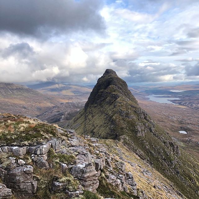 Top of the world in the highlands of Scotland #mltraining