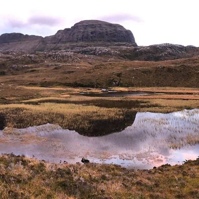 Suilven in reflection