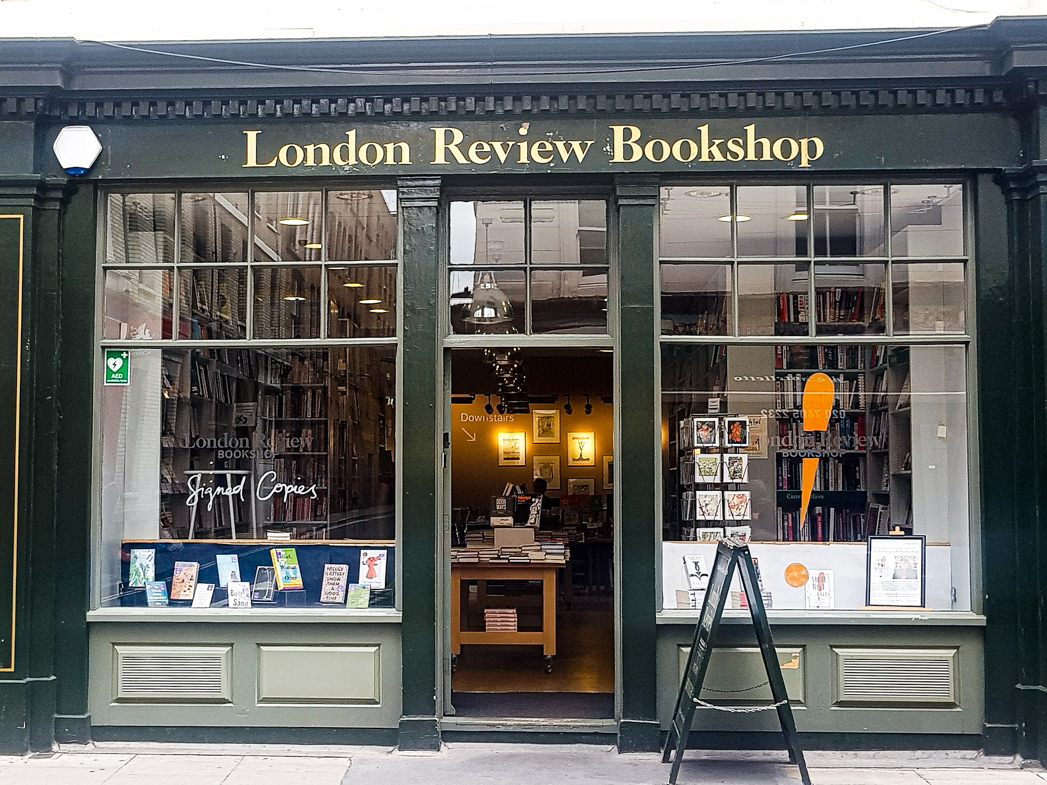 London Review Bookshop, Bloomsbury