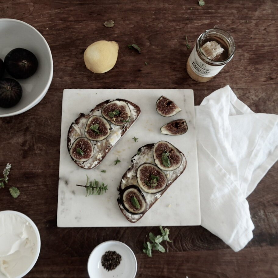Decadent Fig and Ricotta Toast for Autumn