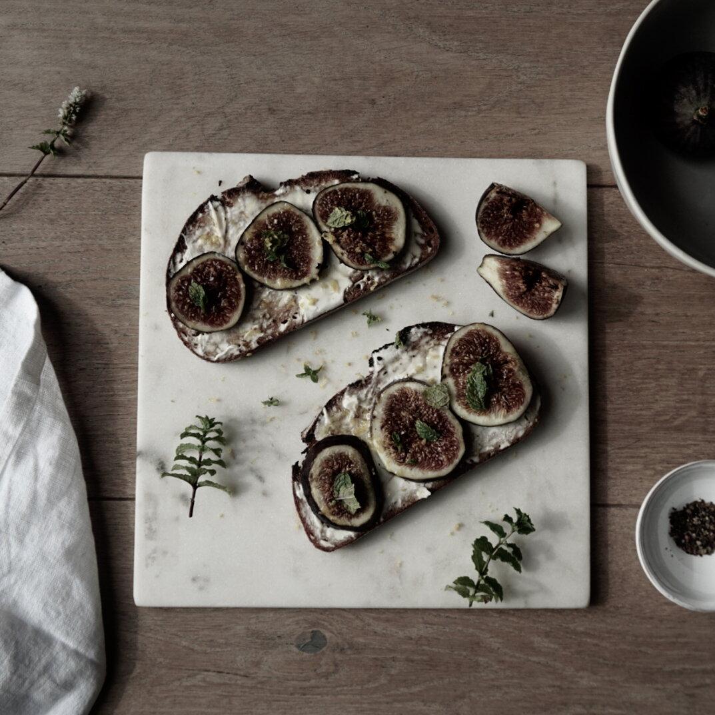 Decadent Fig and Ricotta Toast