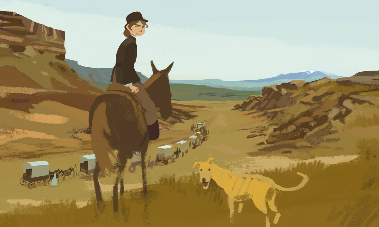 Calamity, a childhood of Martha Jane Cannary - Florencia Di Concilio is currently working on the score for Calamity, a childhood of Martha Jane Cannary, an animated feature film directed by A long way north's Rémi Chayé, and produced by Maybe Movies, set for theatrical release in 2020.