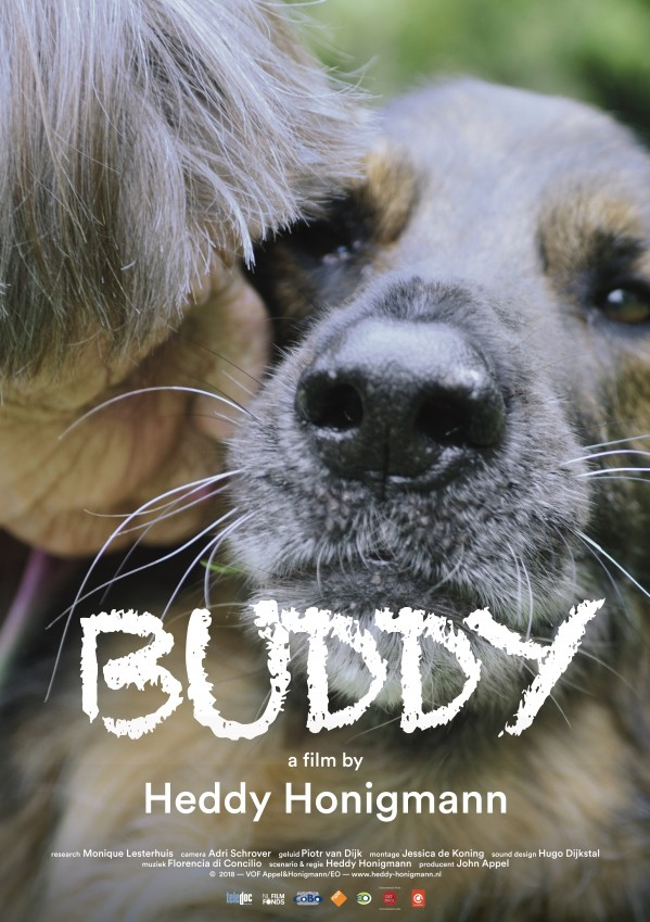 BUDDY - BUDDY marks Florencia Di Concilio's fifth original score for award-winning director Heddy Honigmann. The long feature documentary will be the closing night film of this year's Doc Fortnight at MoMA on Thursday, February 28th. Theatrically released in January 2019 with record-breaking audiences, BUDDY has received the Kristallen Film Award.In this poignant and carefully composed portrait of six guide dogs and their owners, Heddy Honigmann explores the close bond between animal and human.