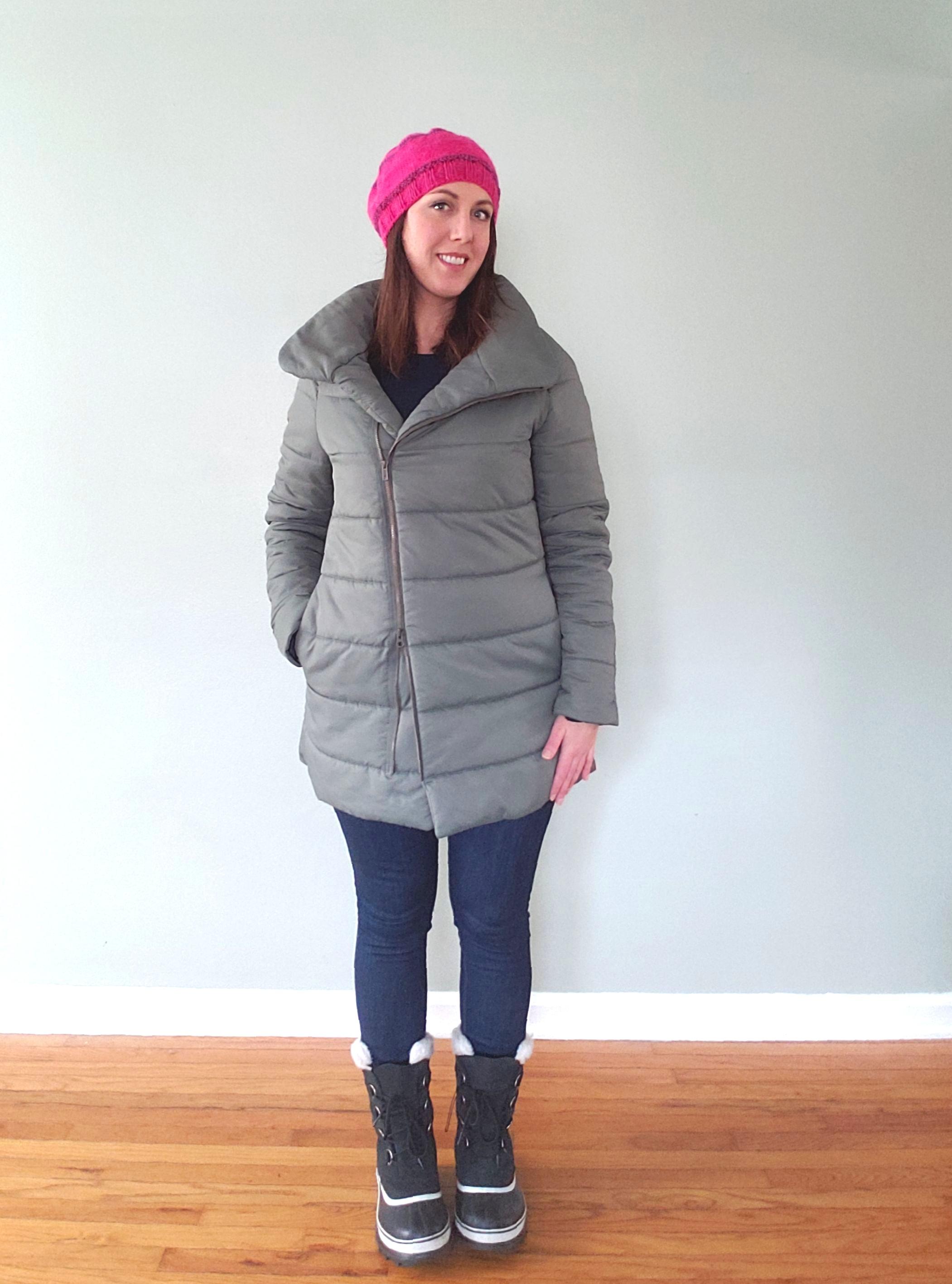 My puffer coat hack!