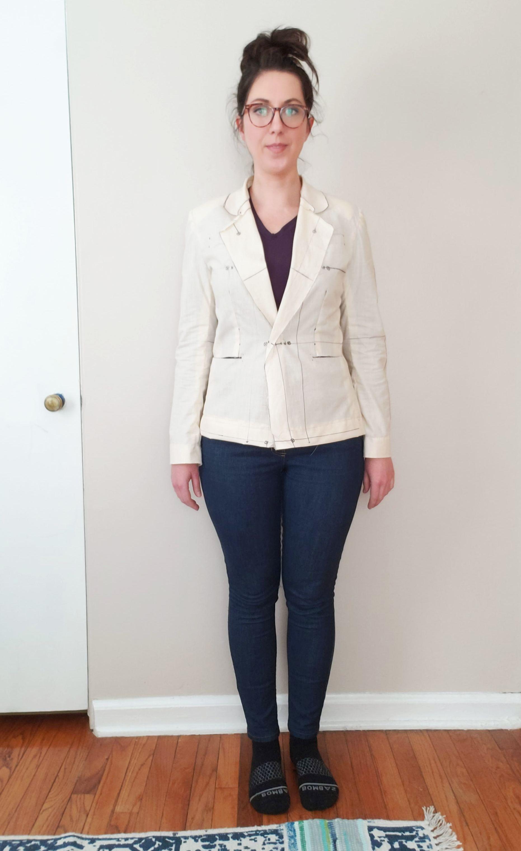 Tried shortening the hem length…too short!
