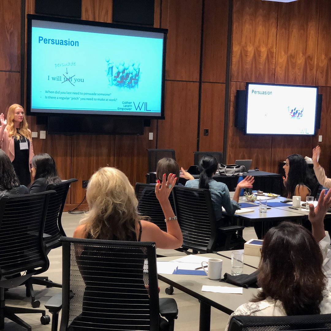 """Influence and Persuasion Strategies"" at the Women in Leadership Symposium at Ivey Tangerine Leadership Center -"