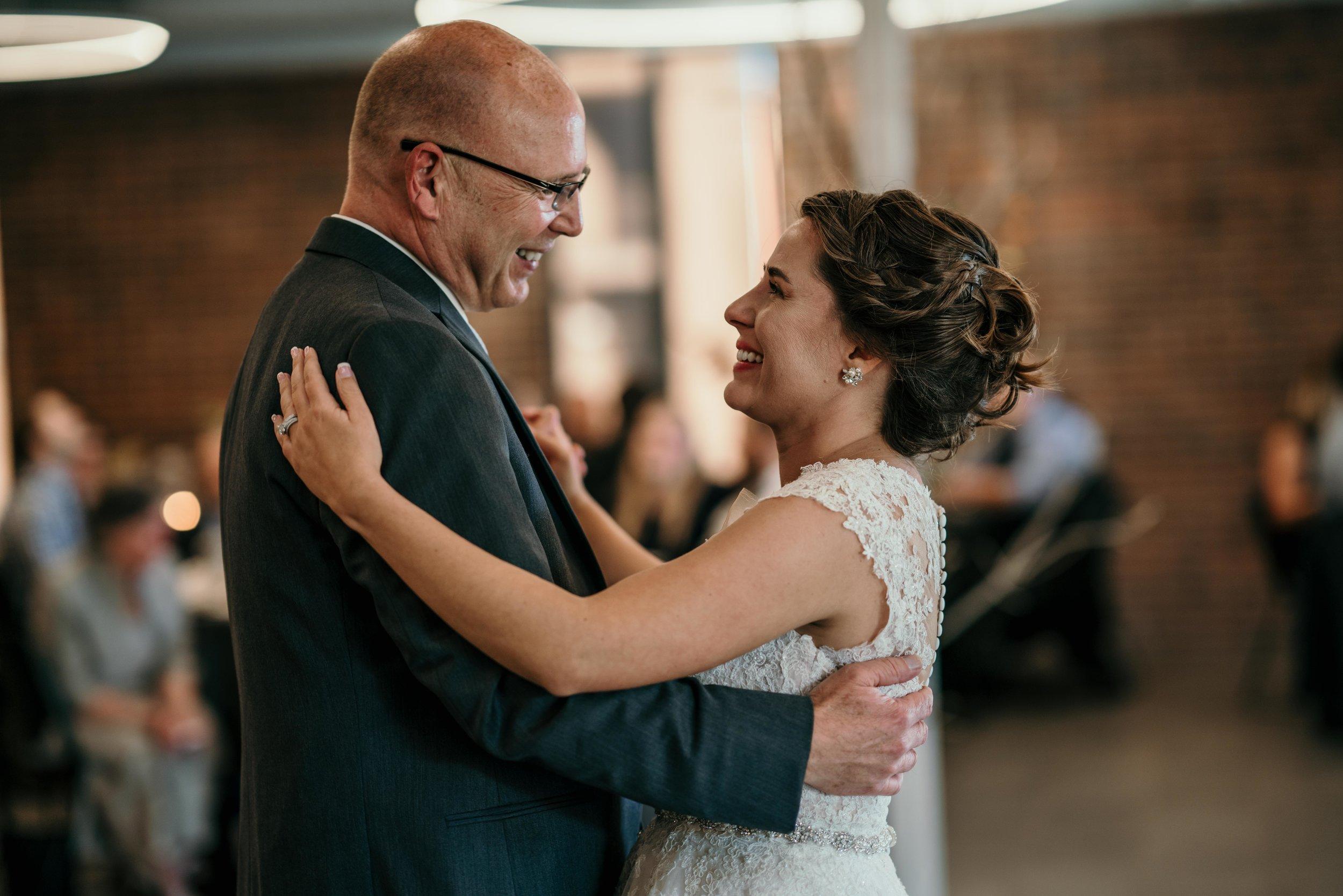 denver wedding father daughter dance