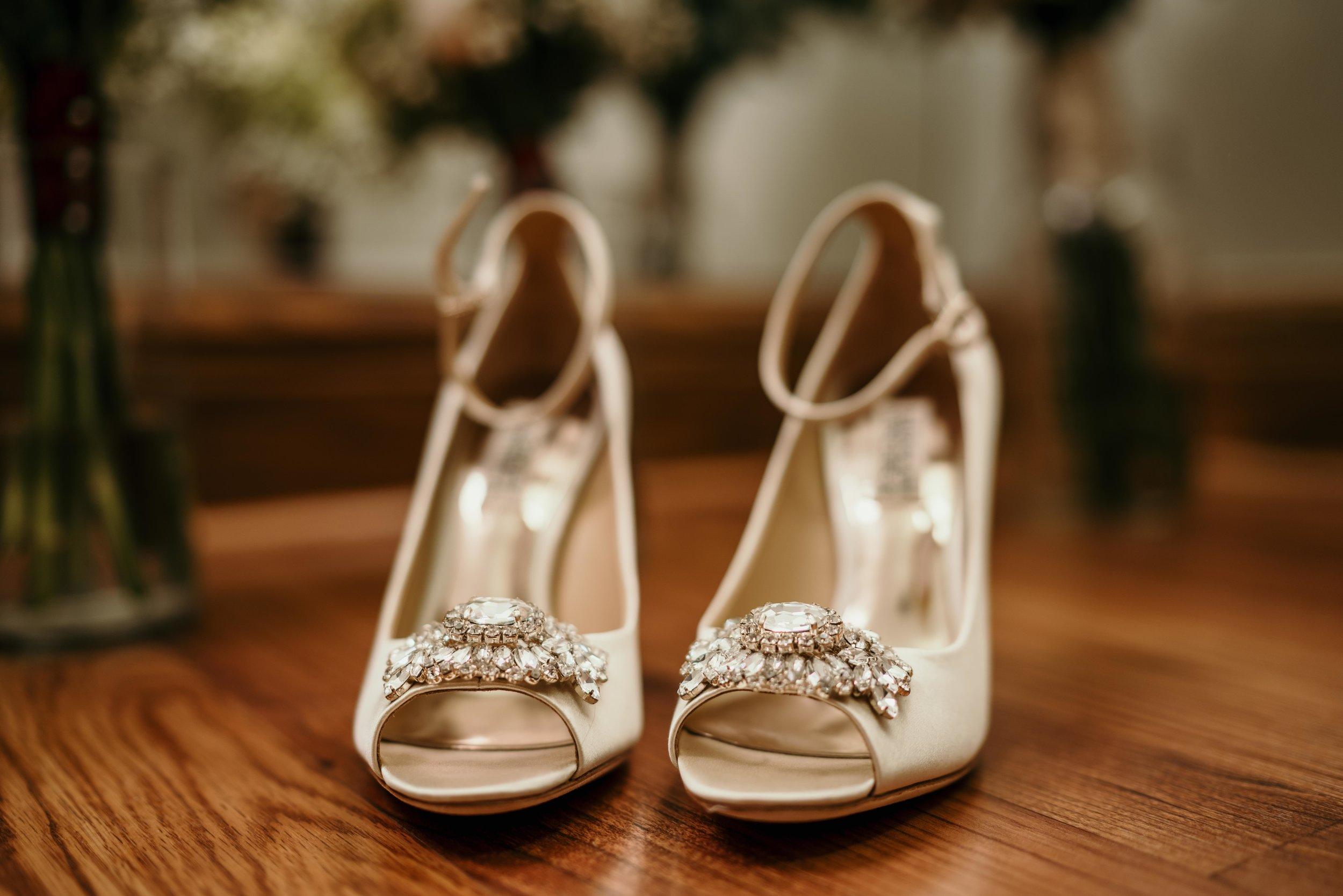 denver wedding brides shoes