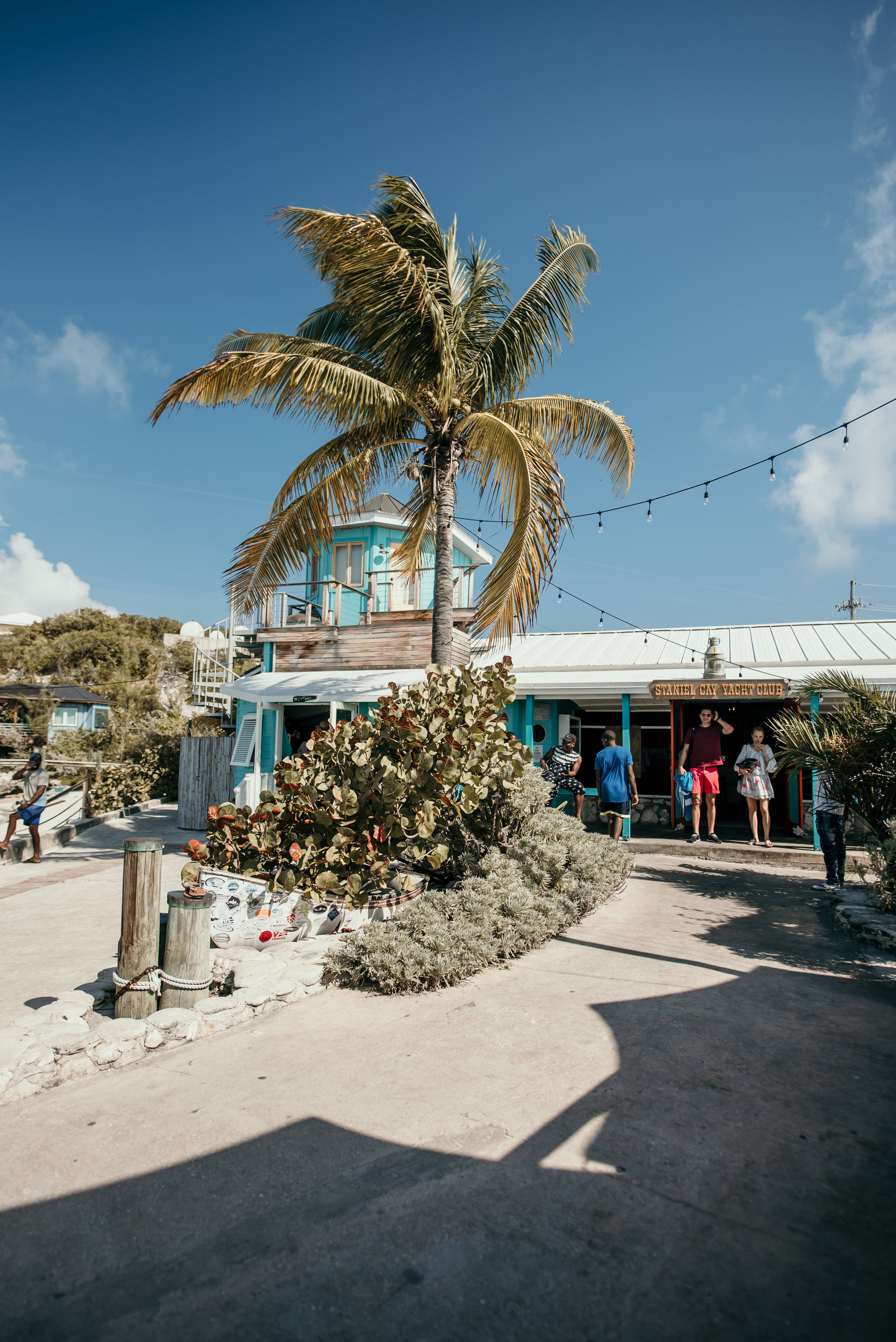 staniel cay yacht club in exuma
