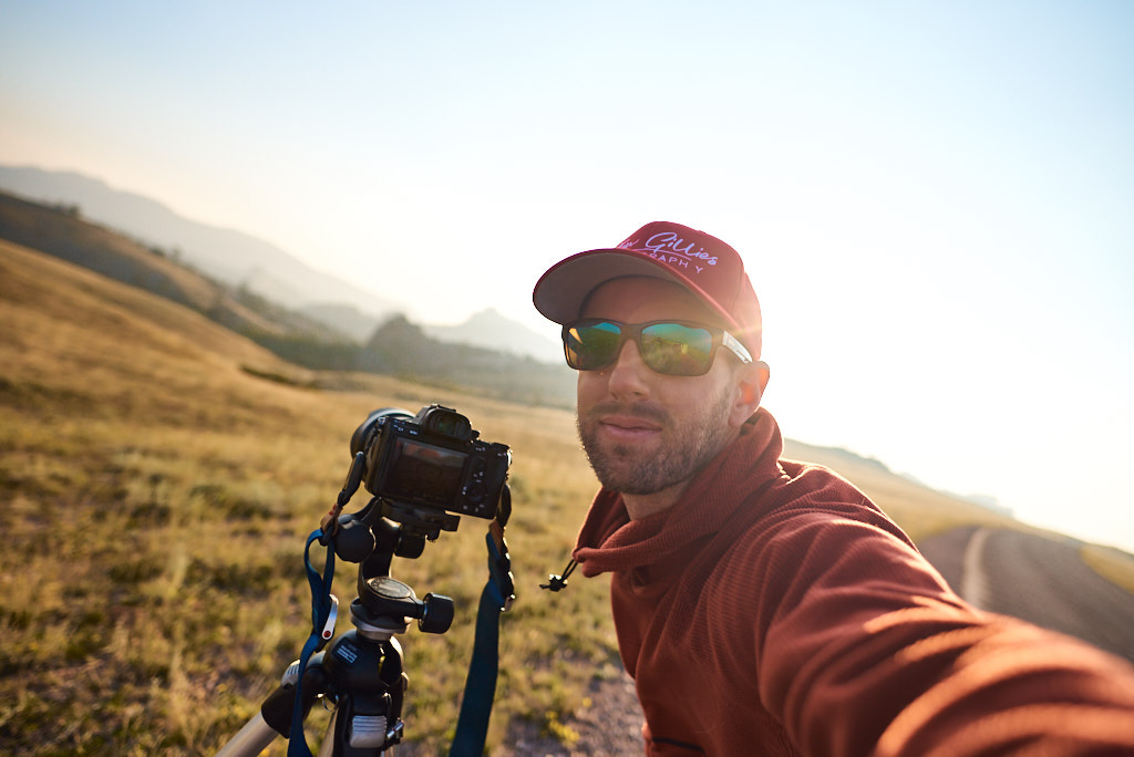 Early morning landscape photography at Vedauwoo, WY.