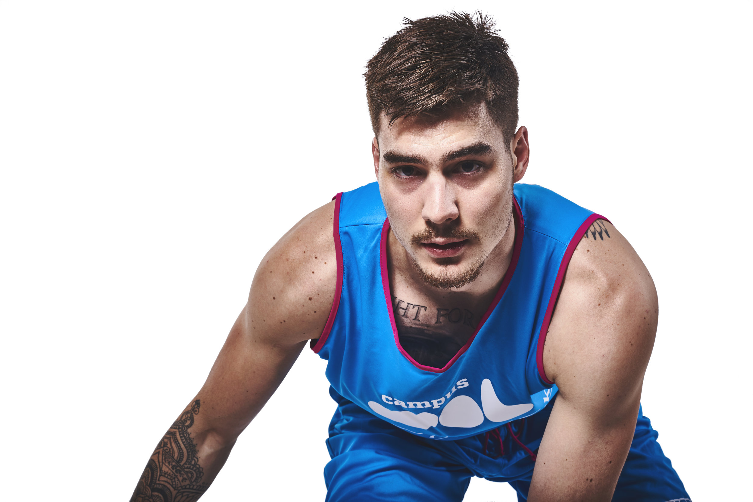 denver sport photographer with NBA Nuggets player juancho 2.jpg