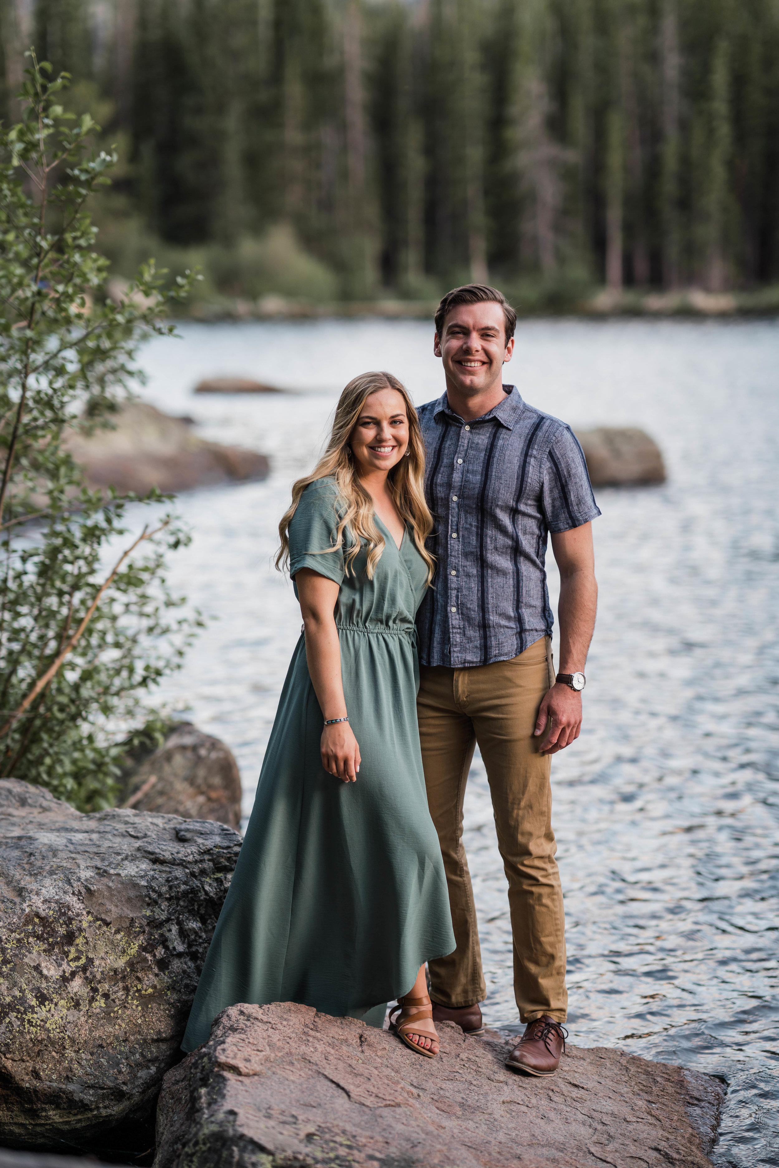 engagement photos in rocky mountain national park RMNP at bear lake -DSC01378.jpg