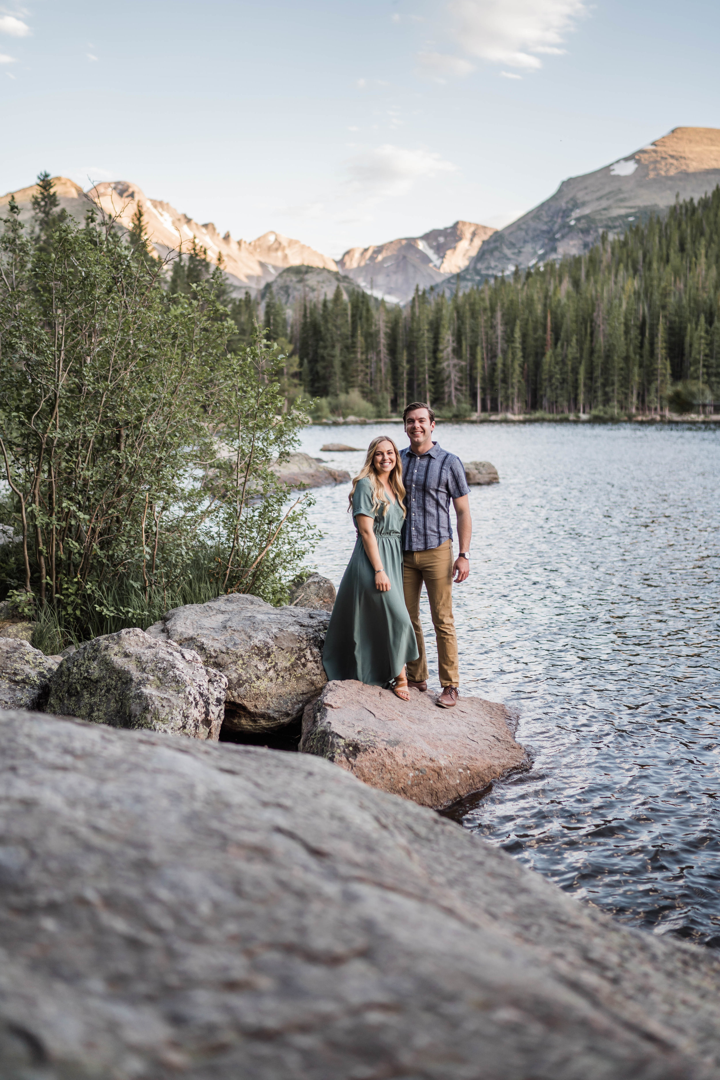 engagement photos in rocky mountain national park RMNP at bear lake -DSD06680.jpg