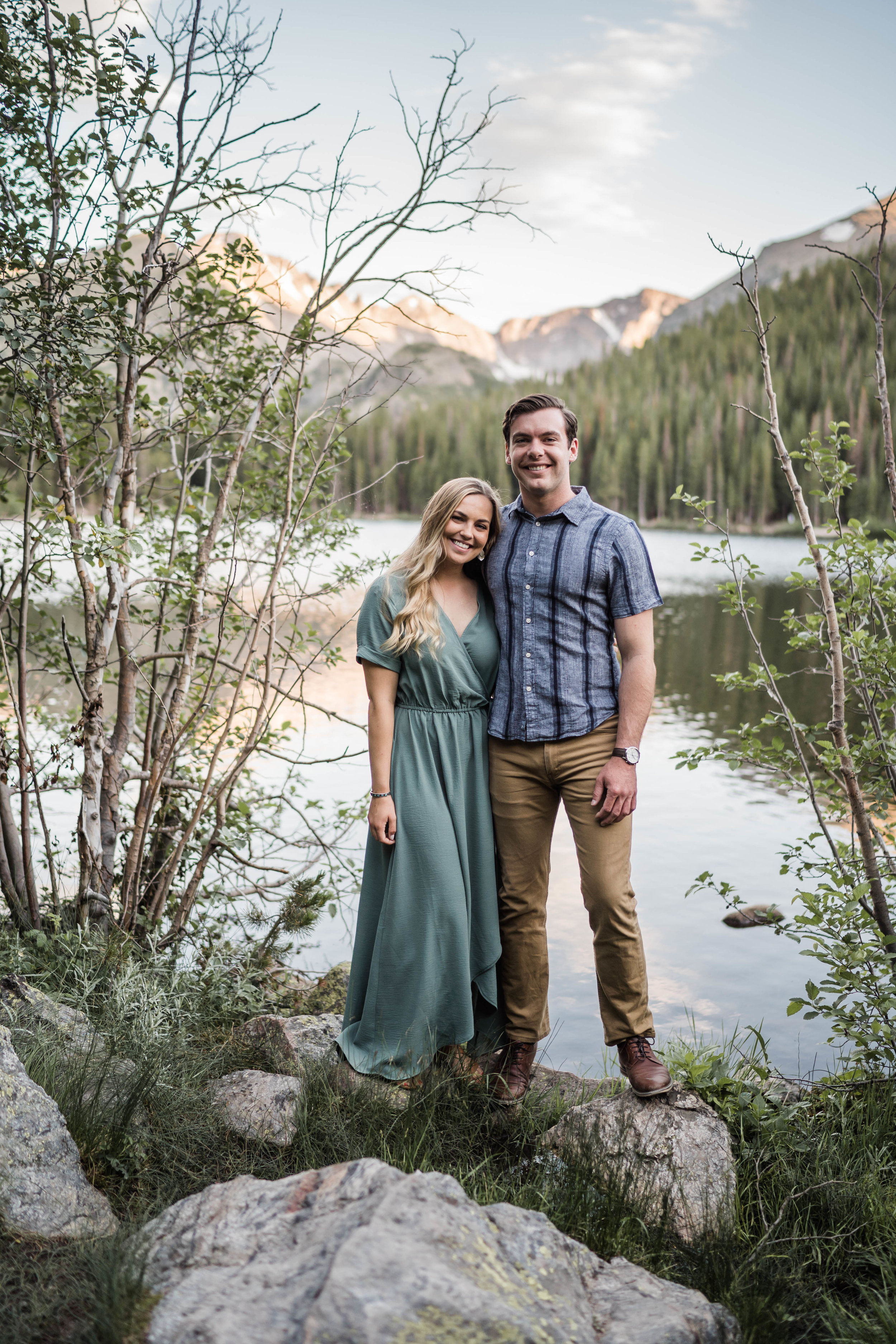 engagement photos in rocky mountain national park RMNP at bear lake -DSD06709.jpg