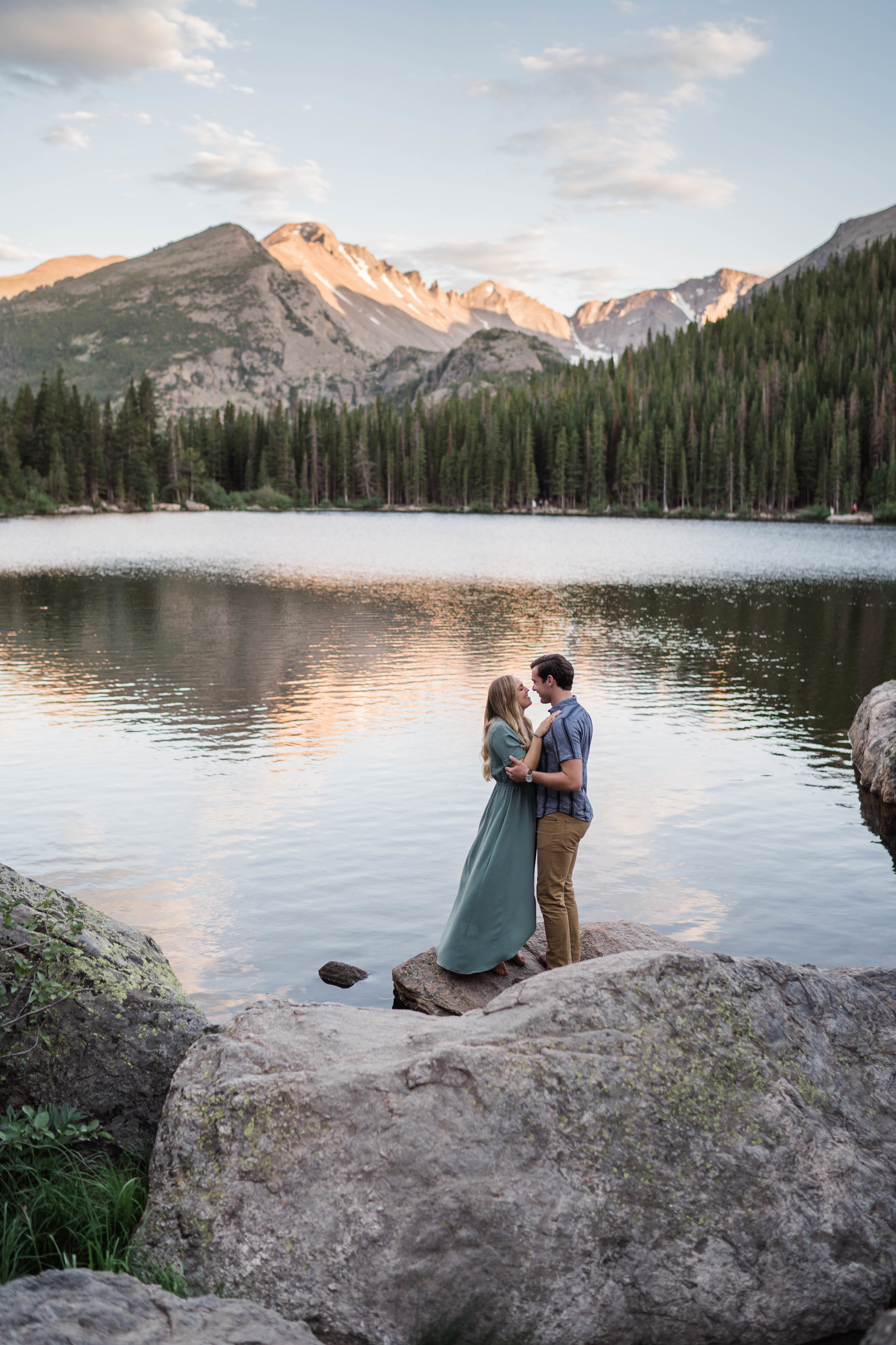 engagement photos in rocky mountain national park RMNP at bear lake -DSD06775.jpg