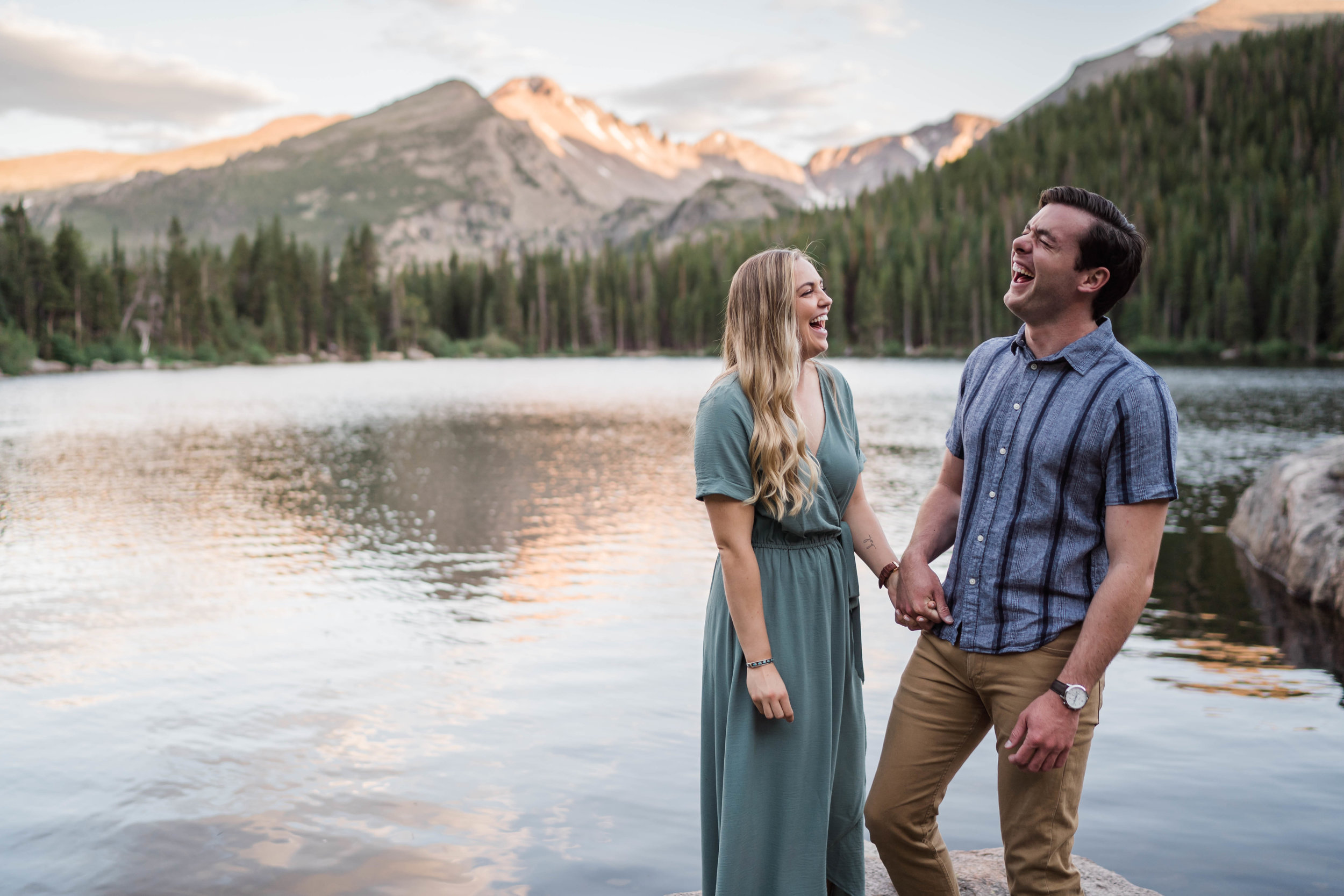 engagement photos in rocky mountain national park RMNP at bear lake -DSD06866.jpg