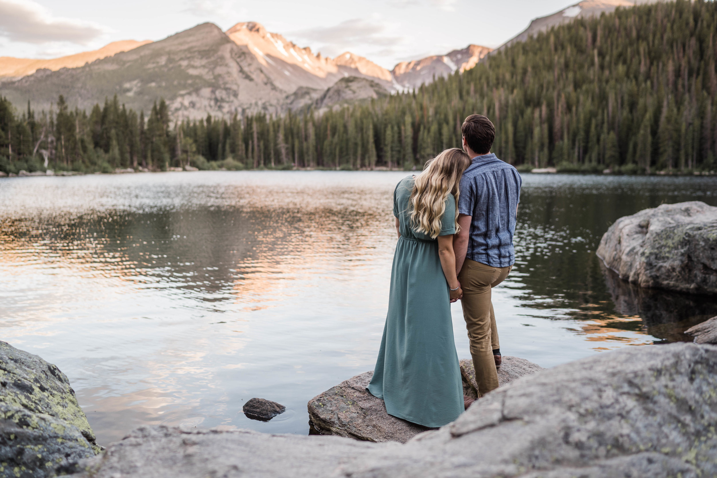 engagement photos in rocky mountain national park RMNP at bear lake -DSD06832.jpg