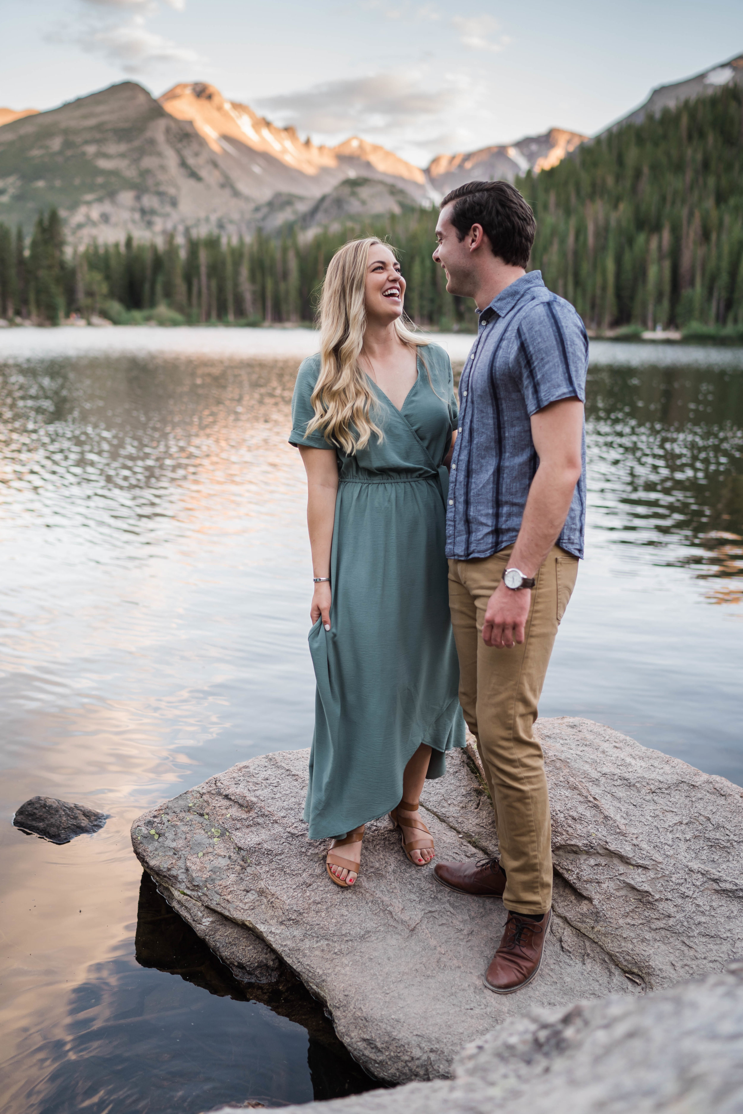 engagement photos in rocky mountain national park RMNP at bear lake -DSD06902.jpg