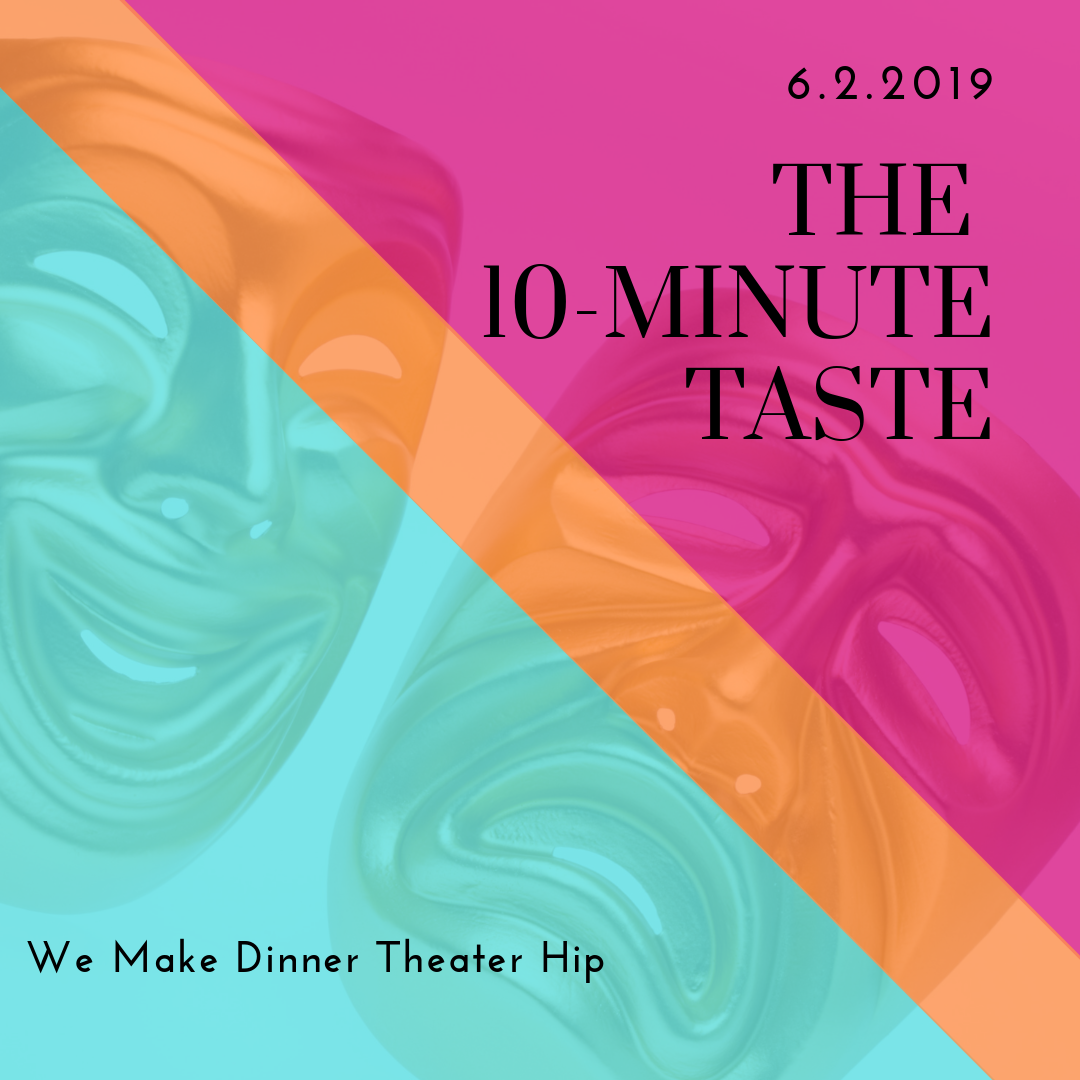 The 10-Minute Taste 2019 - a 4208 Group Experiencecurated by Rahima R. RiceSunday, June 2, 20196-8pmBusboys & Poets, Takoma235 Carroll Street, NWWashington, DC 20012