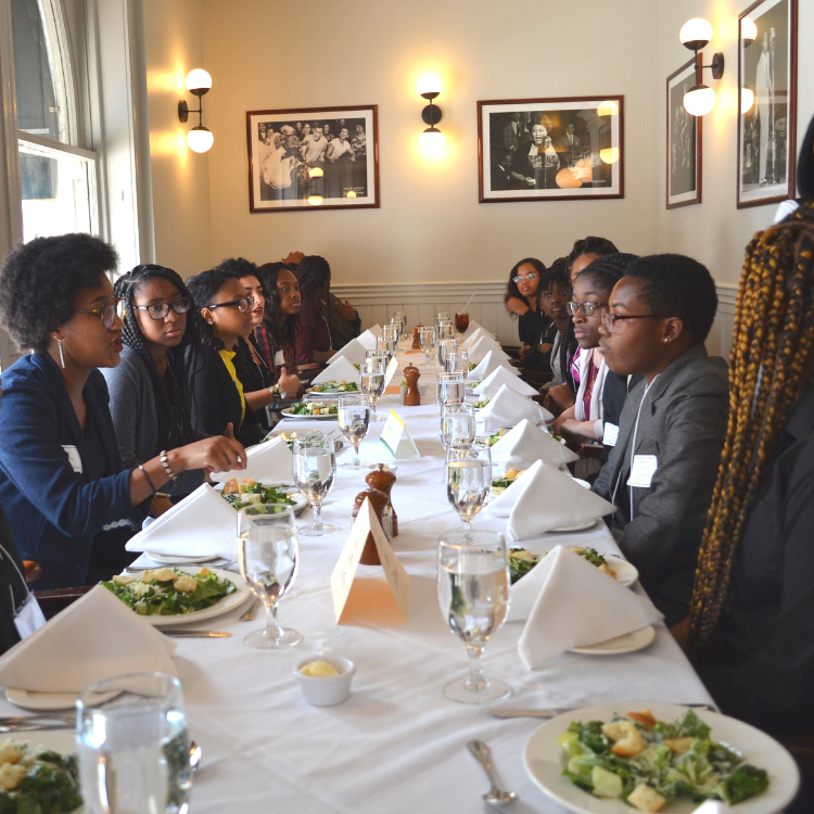 Spend an afternoon mentoring a student - Our Shine & Dine is a mentorship luncheon at a fine dining restaurant that creates a space for our young people to receive mentorship and gain insights from professionals. The event will take place on June 5 between 11am-1pm at either Bourbon House, Palace Cafe, Calcasieu, and Brennan's. Interested in helping students grow? Sign-up below.