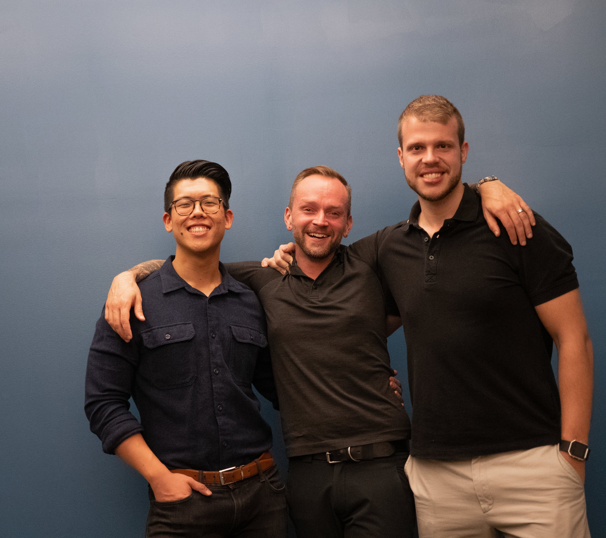 - Co-Founders Mike, Chad, and Joe