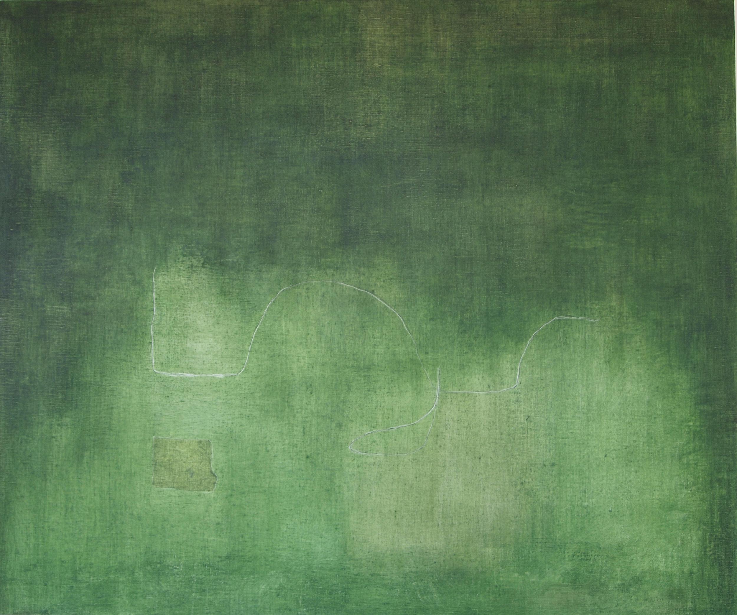 "Through the Green Fuse, 2013, Oil on Canvas, 30"" x 36"".jpg"