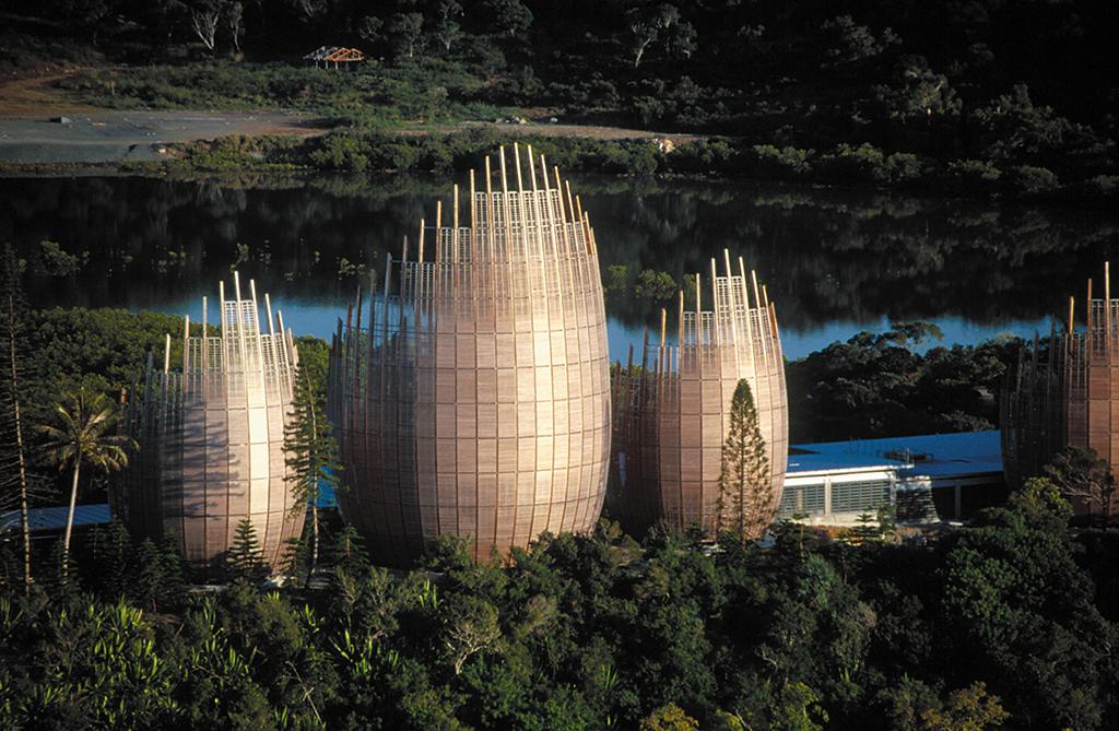 Renzo Piano Building Workshop-J.M. Tijbau Cultural Center