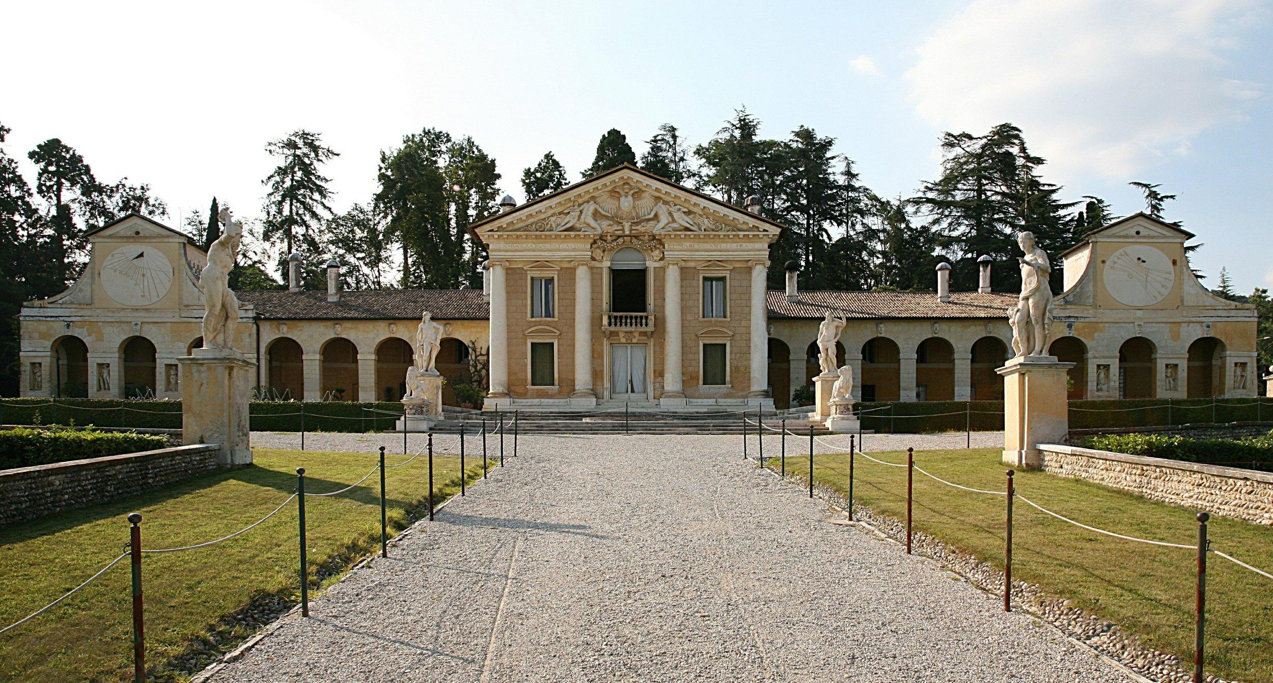 Villa Barbaro -Andrea Palladio