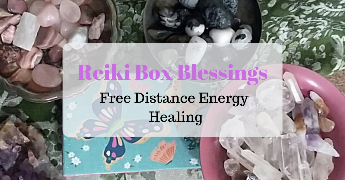 Reiki Box Blessings - Free distance energy healing.