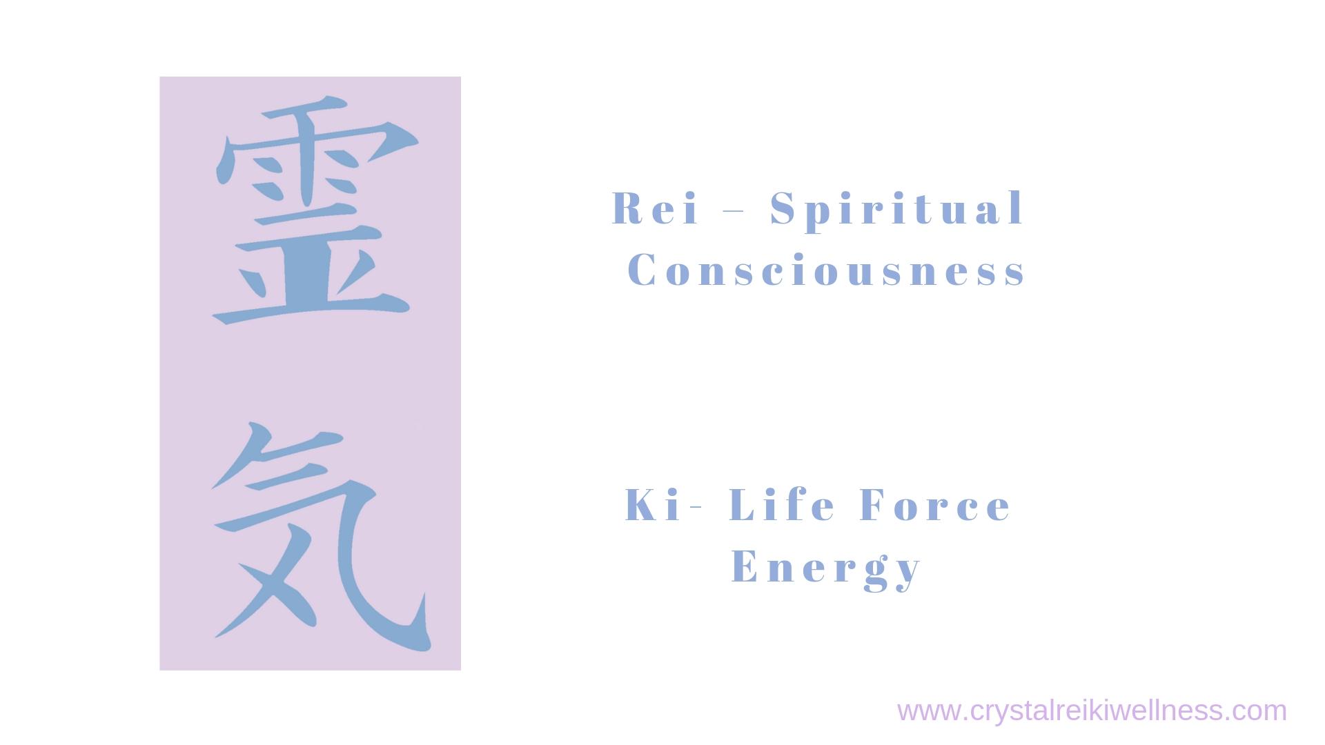 Reiki Kanji Symbols