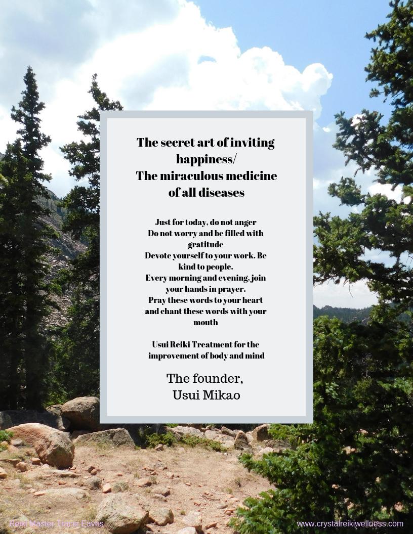 Reiki Principle Poster