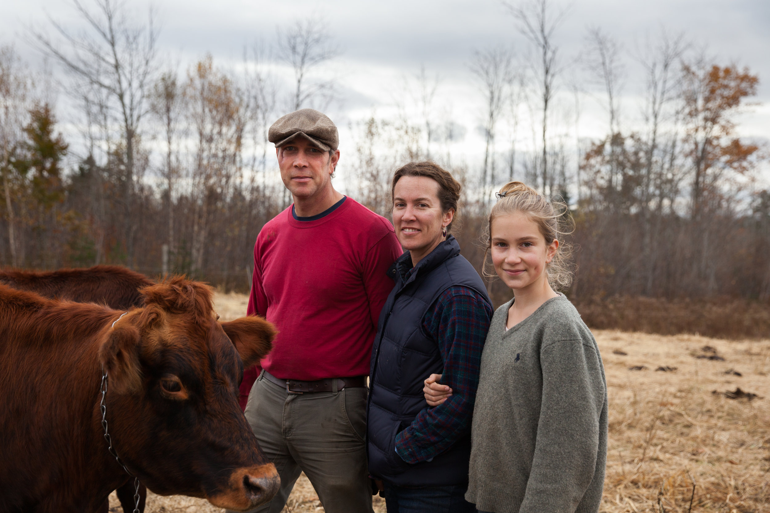 """The future of farming in Maine hangs in the balance. Its future very much depends on what we do now."" - heather & phil retberg, quills end farm, penobscot"
