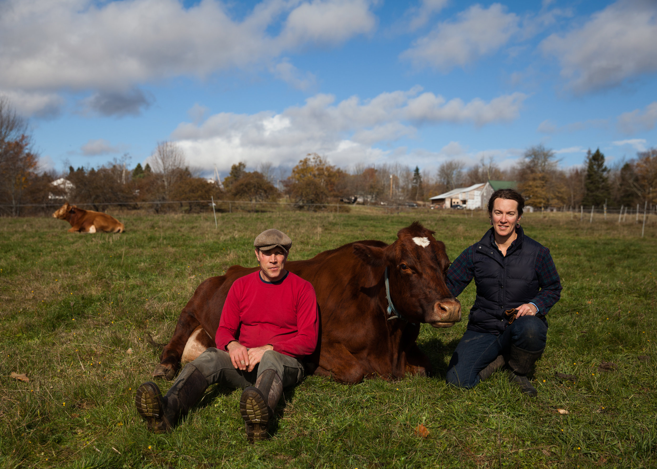 """The future of farming in Maine hangs in the balance. Its future very much depends on what we do now."""