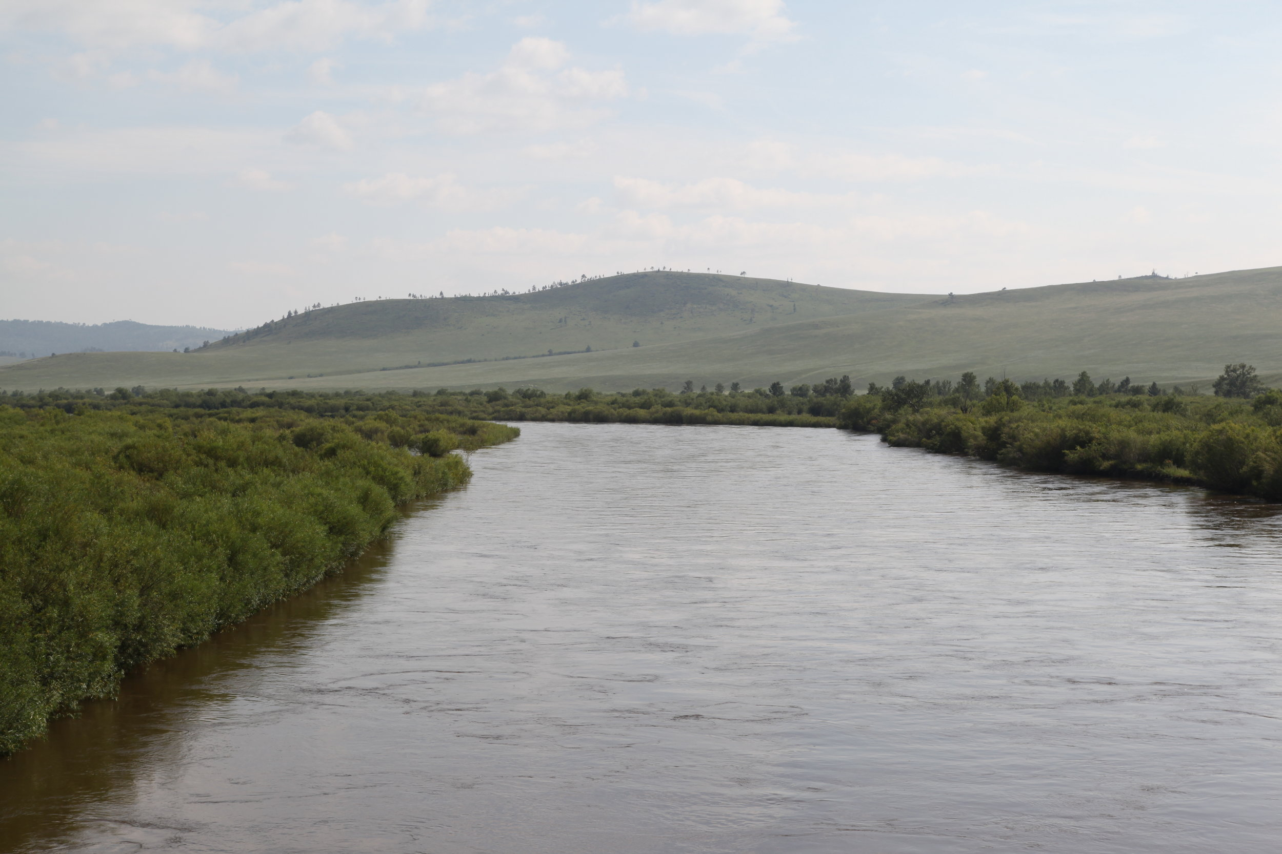 Onon River - The Onon River rises on the northern slope of the Khan Khentii Mountain Range and flows 808 km to join the Shilka River in the Russian Federation. For its first 445 km the Onon flows through Mongolia. The Khyarkhan, Agats, Kheriin are small and medium sized rivers, that are tributaries and flow into the Onon in the proximity of our lodge. Our five rivers abound with many fish species, including taimen, lenok, Amur pike, grayling, trout and others.