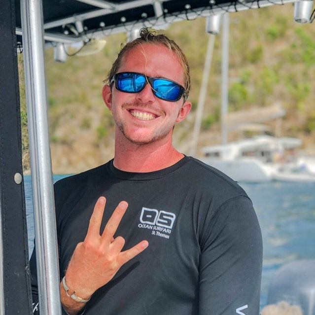 Meet our newest team member, Captain Jordan! Hailing from Dallas, TX, Jordan brings 10 years of VI sailing experience and a 100 ton US Coast Guard license to Salty Daze USVI. Come hear some Caribbean lore and an amazing buccanneer joke or two! ☠️ ⠀ • • • www.saltydazeusvi.com • • • #veteranowned #veteranownedbusiness #veteran #booknow #jumpinwithus #saltydaze #saltydazeusvi #saltydazecharters #lovecity #comevisit #stjohn #stj #stjohnusvi #virginislands #paradise #bvi #caribbean #caribbeanlife #travelholic #bestdayever #vacation #vacationgoals #usvi #nobaddays