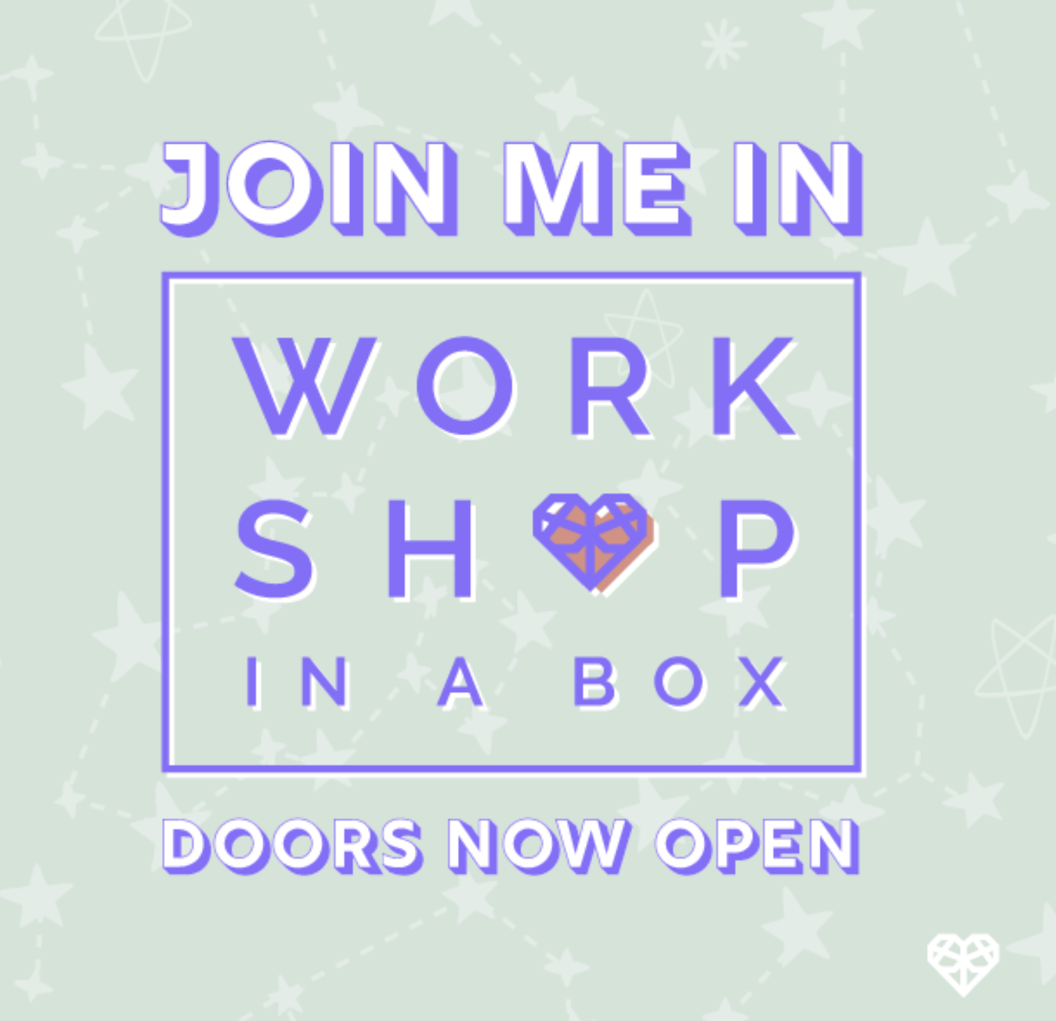 Tell your followers - you are about to LEVEL UP as a boss babe in Workshop In A Box! Make sure to tag @theworkshopinabox so we can see what you post! <3