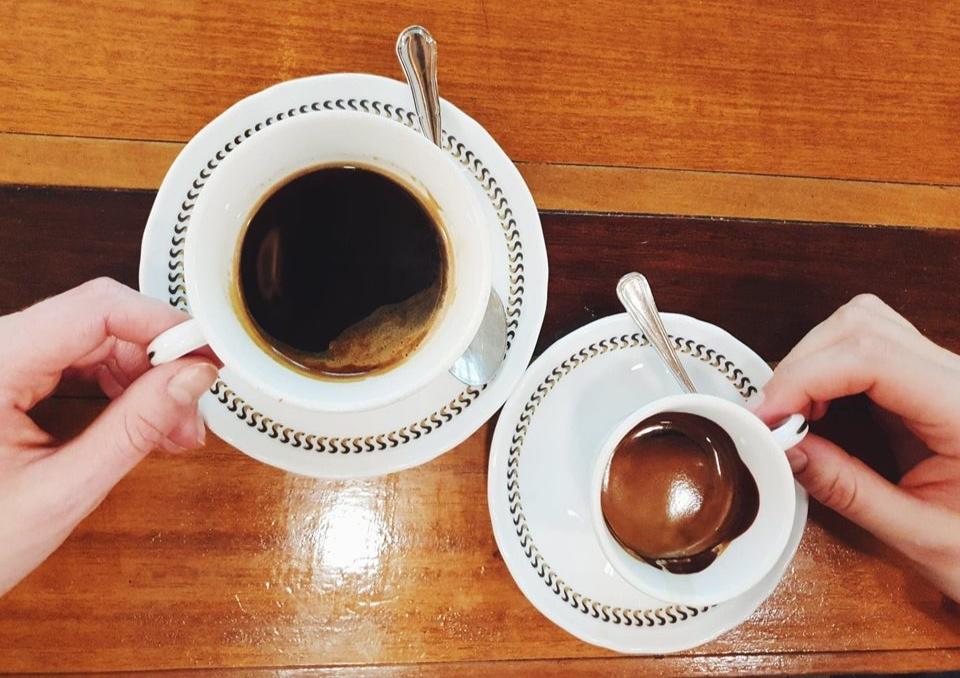 Coffee at Sciascia Caffè