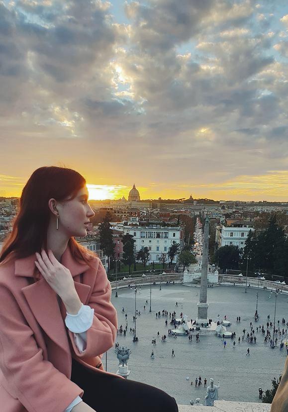 View from  Piazza del Popolo