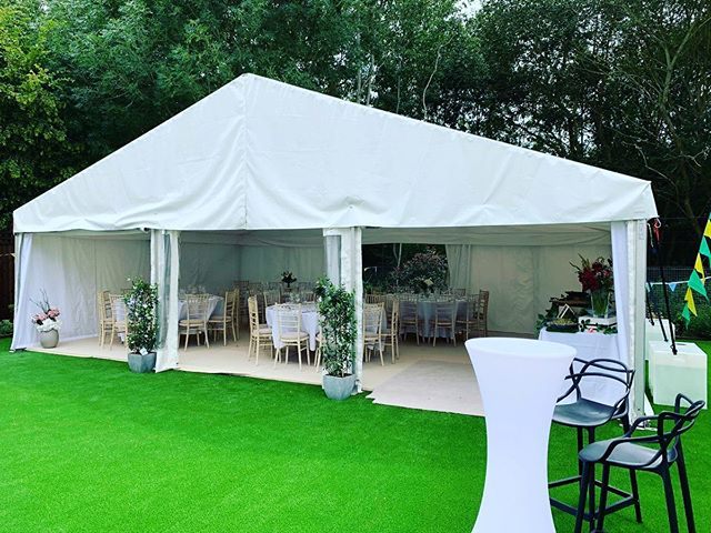 Pictures from a garden party in Loughton at the weekend which was a huge success! Yes we install marquees on AstroTurf and no we definitely do not damage it!  Contact us now for your next event - Link in bio . . . . #Statusmarquees #Marquee #Marqueehire #Marqueephotos #Essex #Kent #Hertfordshire #Epping #London #Loughton #Party #Summer #AstroTurf #Feedback #VenueDecoration #Eventprofs #Eventsolutions #Events #Eventplanner