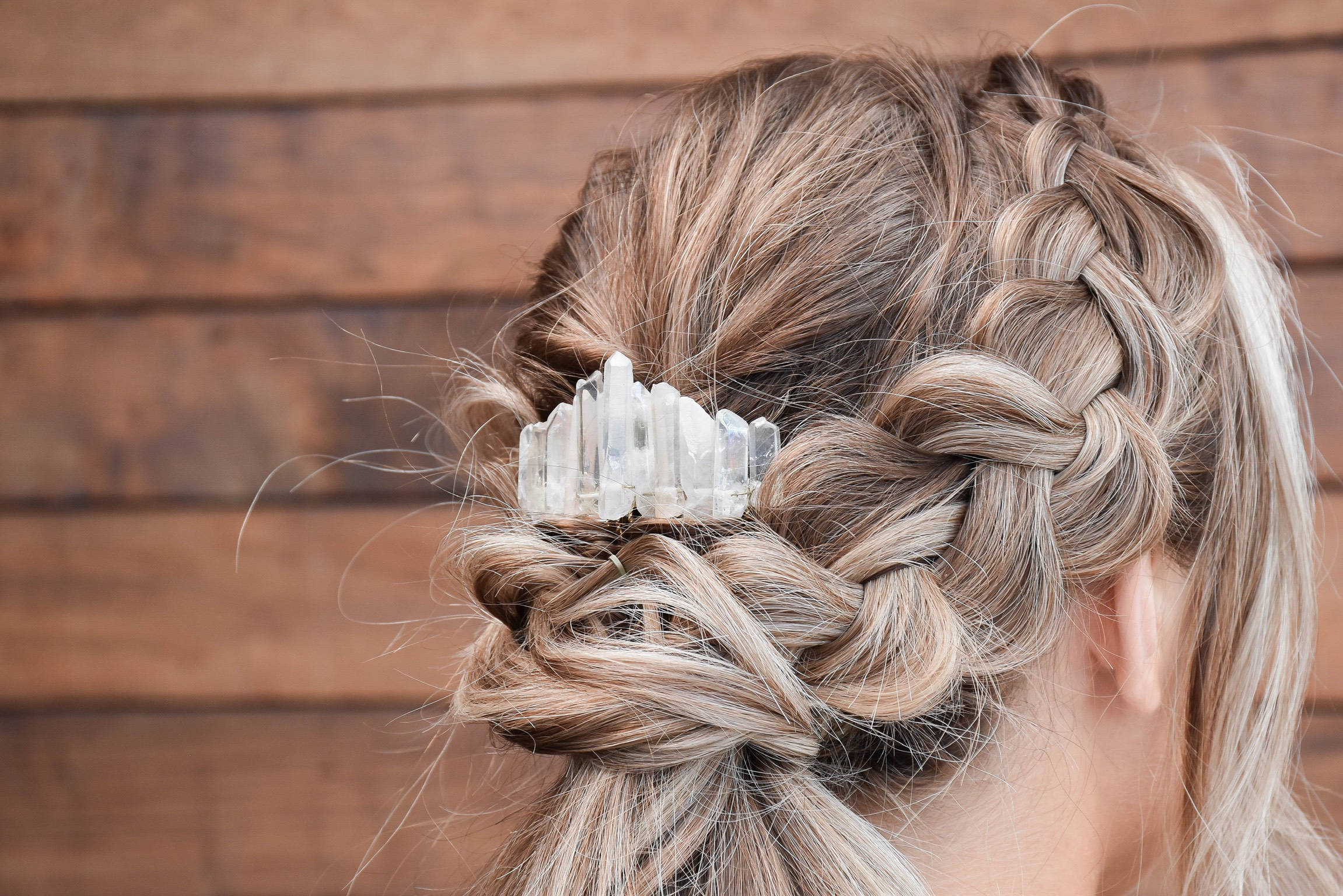 Angel Aura Crystal Comb