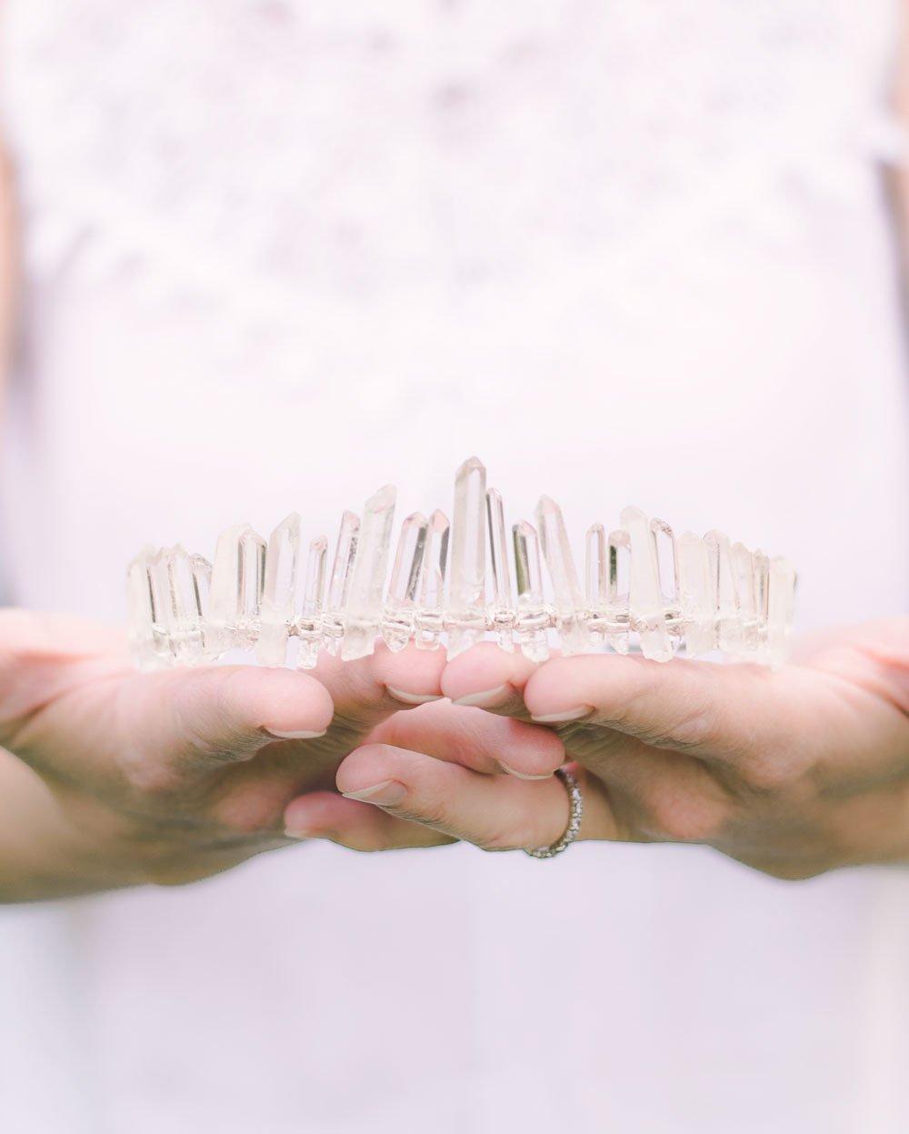 Clear Quartz Crown